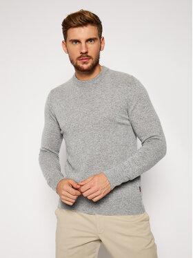 Woolrich Woolrich Pullover Supergeelong Logo CFWOKN0073MR UF0469 Grau Regular Fit