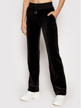 Juicy Couture Juicy Couture Teplákové kalhoty Delray JCCB221003 Černá Regular Fit