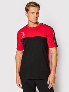 Fila Fila T-Shirt Ojas 683481 Červená Regular Fit