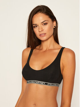 Stella McCartney Stella McCartney Reggiseno Bralette Ivy Chatting S6RK00780.00112 Nero