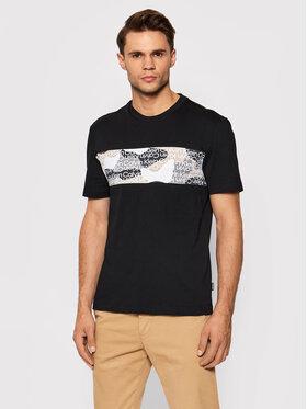Calvin Klein Calvin Klein Тишърт Camouflage Logo K10K107603 Черен Regular Fit