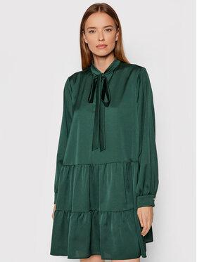 Marella Marella Koktejlové šaty Affix 32262518 Zelená Regular Fit