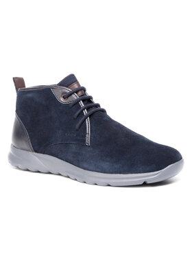 Geox Geox Auliniai batai U Damian C U940HC 022BC C4002 Tamsiai mėlyna