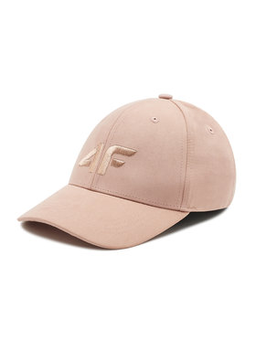 4F 4F Kepurė su snapeliu H4L21-CAD001 Rožinė
