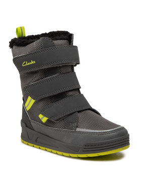 Clarks Clarks Bottes de neige Jumper Three T 261558877 Gris