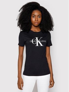 Calvin Klein Jeans Calvin Klein Jeans Marškinėliai Core Monogram Logo J20J207878 Juoda Regular Fit