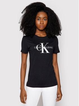 Calvin Klein Jeans Calvin Klein Jeans Póló Core Monogram Logo J20J207878 Fekete Regular Fit