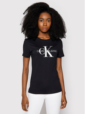 Calvin Klein Jeans Calvin Klein Jeans T-Shirt Core Monogram Logo J20J207878 Černá Regular Fit