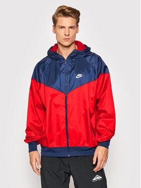 Nike Nike Kurtka do biegania Windrunner DA0001 Czerwony Standard Fit
