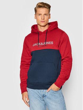 Jack&Jones Jack&Jones Bluza Urban Blocking 12190441 Czerwony Regular Fit