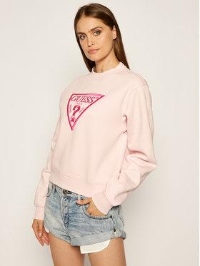 Guess Guess Džemperis Triangle W0YQ50 K9Z20 Rožinė Regular Fit