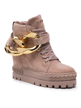Carinii Carinii Sneakersy B7206 Beżowy