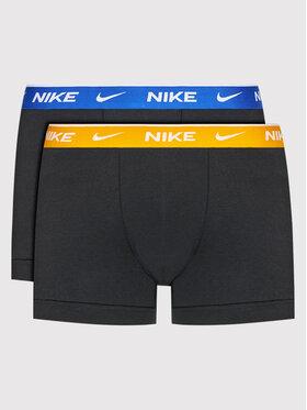 Nike Nike Sada 2 kusů boxerek Everyday Stretch 0000KE1085 Černá