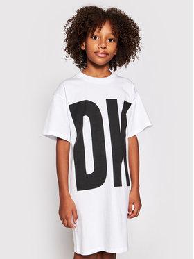 DKNY DKNY Haljina za svaki dan D32777 S Bijela Regular Fit