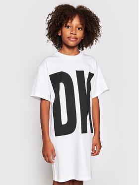 DKNY DKNY Kasdieninė suknelė D32777 S Balta Regular Fit