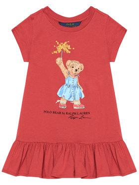 Polo Ralph Lauren Polo Ralph Lauren Kasdieninė suknelė SS Bear 312790447001 Raudona Regular Fit