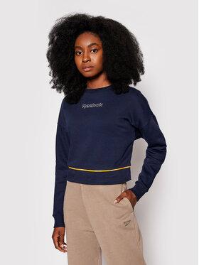 Reebok Reebok Sweatshirt Piping Pack Crewneck H50359 Dunkelblau Regular Fit