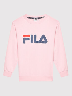 Fila Fila Bluza Tim Logo 688022 Różowy Regular Fit