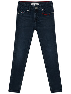 TOMMY HILFIGER TOMMY HILFIGER Jeans Nora KG0KG05411 D Blu scuro Skinny Fit