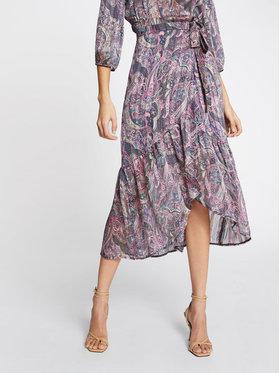 Morgan Morgan Plisovaná sukně 211-JIRIL Fialová Regular Fit