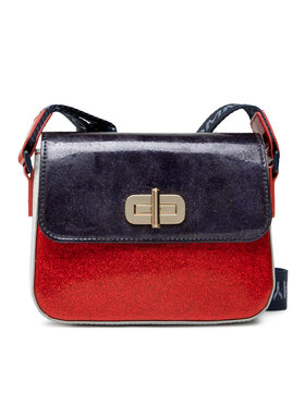 Tommy Hilfiger Tommy Hilfiger Geantă Mini Me Turnlock AW0AW10147 Bleumarin