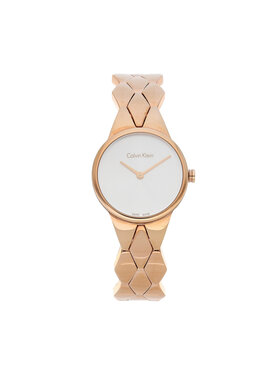 Calvin Klein Calvin Klein Часовник Lady K6E23646 Розов