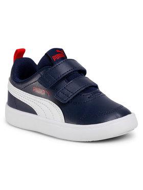 Puma Puma Sneakersy Courtflex V2 V Inf 37154401 Granatowy