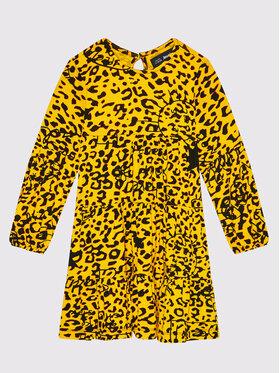 Desigual Desigual Ежедневна рокля 21WGVK11 Жълт Regular Fit
