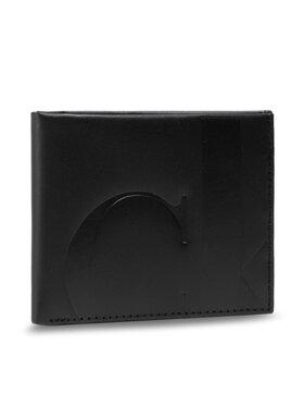 Calvin Klein Calvin Klein Μεγάλο Πορτοφόλι Ανδρικό Billford W/Coin K50K506969 Μαύρο