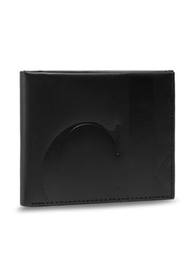 Calvin Klein Calvin Klein Portofel Mare pentru Bărbați Billford W/Coin K50K506969 Negru