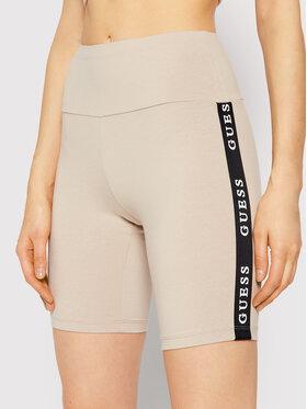 Guess Guess Pantaloni scurți sport Aline O1GA07 KABR0 Bej Slim Fit