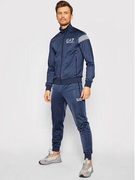 EA7 Emporio Armani EA7 Emporio Armani Sportinis kostiumas 6KPV59 PJ08Z 1554 Tamsiai mėlyna Regular Fit