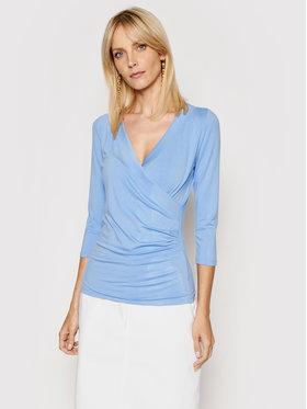 Lauren Ralph Lauren Lauren Ralph Lauren Bluză 200831571002 Albastru Slim Fit