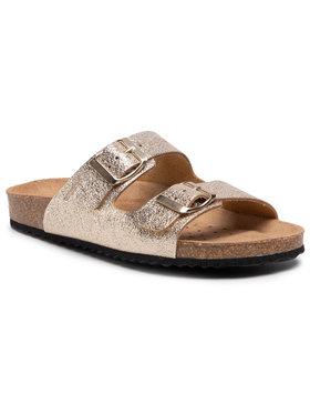 Geox Geox Mules / sandales de bain D Brionia A D15LSA 000CF C2010 Or