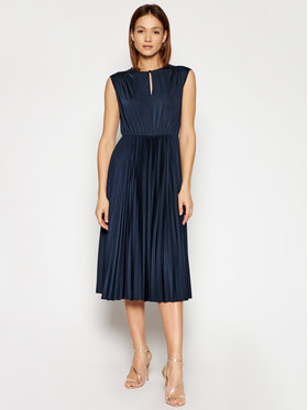 Marella Marella Koktel haljina Broise 36210311 Tamnoplava Regular Fit