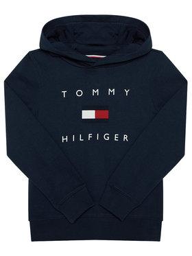 TOMMY HILFIGER TOMMY HILFIGER Mikina Logo KB0KB06142 D Tmavomodrá Regular Fit