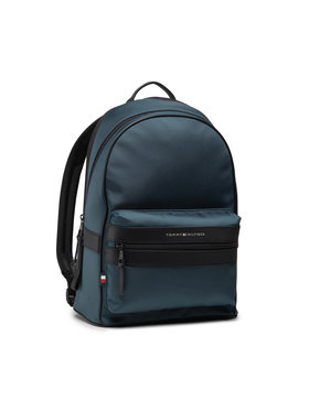 Tommy Hilfiger Tommy Hilfiger Plecak Elevated Nylon Backpack AM0AM07585 Niebieski