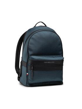 Tommy Hilfiger Tommy Hilfiger Σακίδιο Elevated Nylon Backpack AM0AM07585 Μπλε