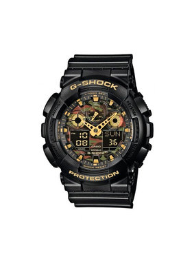 G-Shock G-Shock Laikrodis GA-100CF-1A9ER Juoda