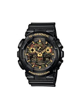 G-Shock G-Shock Ρολόι GA-100CF-1A9ER Μαύρο