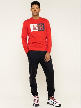 Tommy Jeans Tommy Jeans Mikina Essential Graphic DM0DM07413 Červená Regular Fit