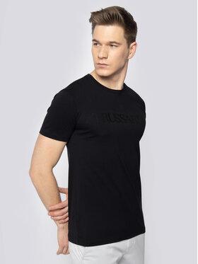Trussardi Jeans Trussardi Jeans Tričko 52T00328 Čierna Regular Fit