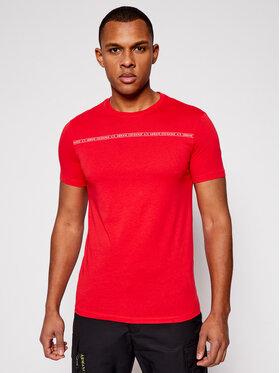 Armani Exchange Armani Exchange T-shirt 8NZT93 Z8H4Z 1400 Rouge Regular Fit