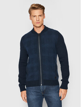 JOOP! Jeans JOOP! Jeans Cardigan 15 Jjk-26Ivar 30029748 Bleu marine Regular Fit