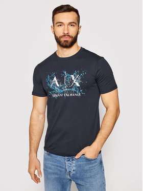Armani Exchange Armani Exchange T-shirt 3KZTGY ZJBVZ 1510 Tamnoplava Regular Fit