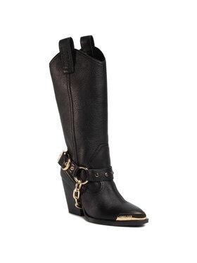 Versace Jeans Couture Versace Jeans Couture Ботуши E0VZAS14 Черен