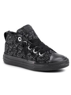 Converse Converse Sneakers Ctas Street Mid 666904C Μαύρο