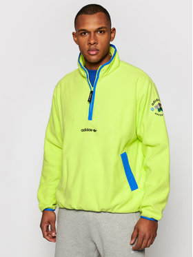 adidas adidas Fleecová mikina Adv Hz Fleece GN2379 Žltá Regular Fit