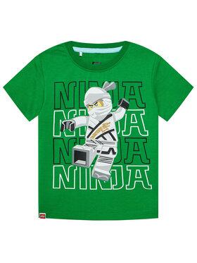LEGO Wear LEGO Wear Marškinėliai 12010102 Žalia Regular Fit