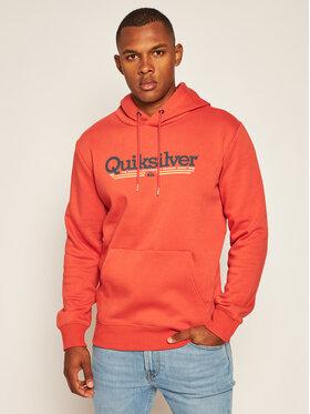 Quiksilver Quiksilver Mikina Tropical Lines EQYFT04204 Oranžová Regular Fit